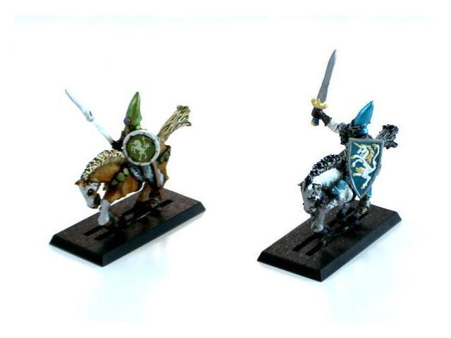 High Elf Knights 2-Pack #1 NM