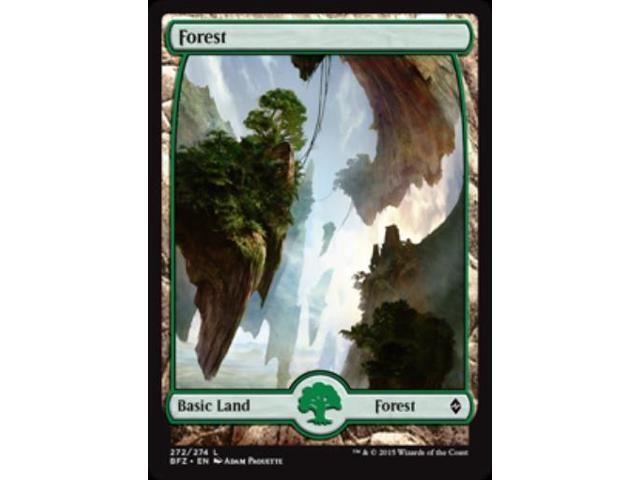 Forest #272 (Expanded Border) (C) (Foil) NM