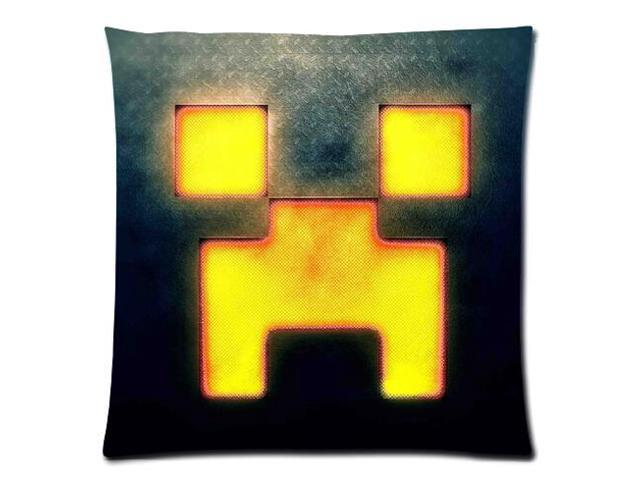 Minecraft 02 Style Pillowcase Custom 18X18 Inch Zippered Pillow Case