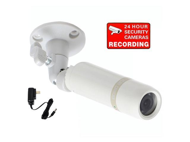 VideoSecu Indoor Outdoor CCTV Bullet Security Camera Built-in Sony ...