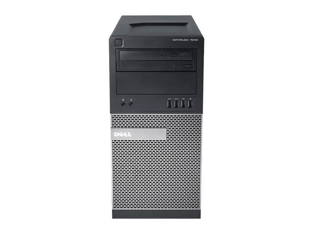 Dell OptiPlex 7010 MT/Core i7-3770 @ 3.4 GHz Quad/32GB DDR3/NEW 512GB SSD/DVD-RW/WINDOWS 10 PRO 64 BIT