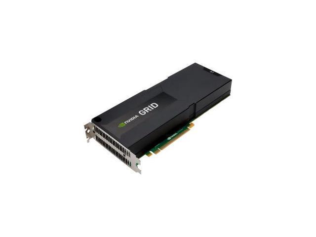 HP GRID K1 J0G94A 16GB (4GB/GPU) GDDR5 PCI Express 3.0 x16 Quad GPU Graphics Accelerator