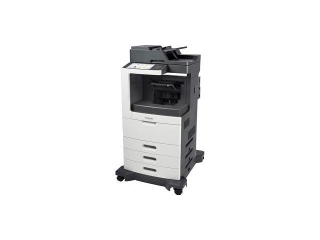 Lexmark MX810DTPE Laser Multifunction Printer - Monochrome - Plain Paper Print - Desktop