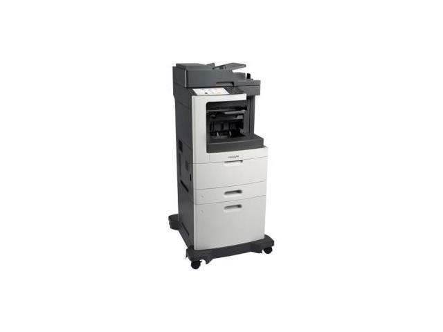 Lexmark MX810dxpe Laser Multifunction Printer - Monochrome - Plain Paper Print - Desktop