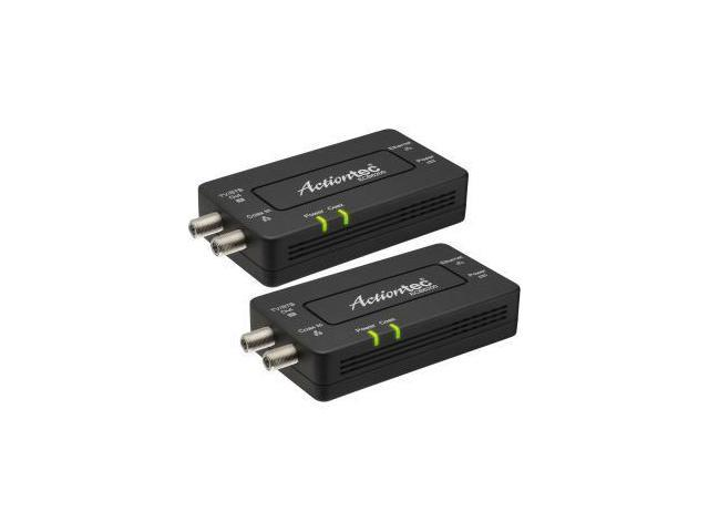 Actiontec Bonded MoCA 2.0 Ethernet to Coax Network Adapter - 2-pack