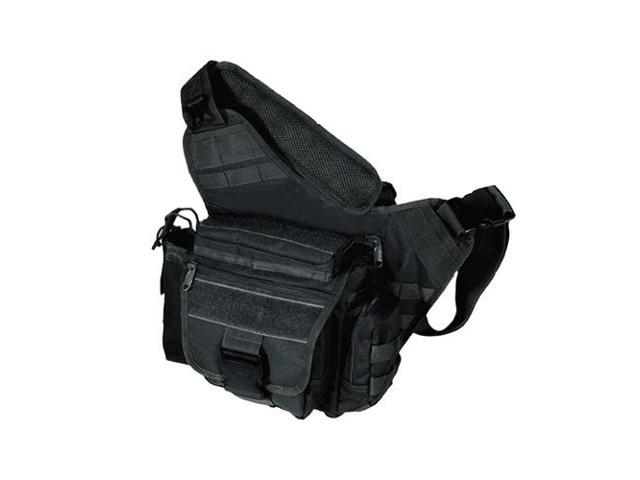 UTG Multi Functional Tactical Messenger Bag Black
