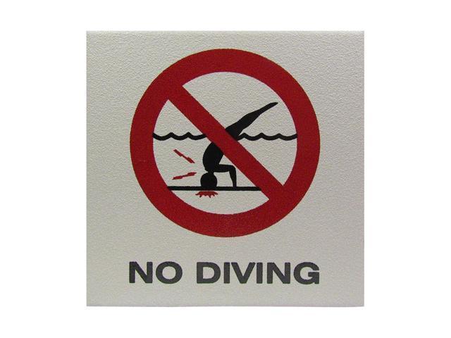 No+Diving+Sign