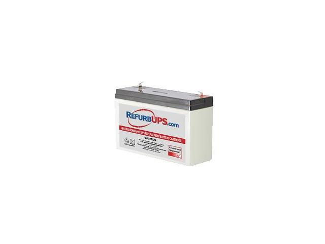 Emergi-Lite 6LSM3 -  Compatible Replacement Battery