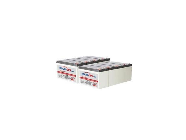 APC Smart-UPS 2200 Rack Mount (SU2200R3X147) -  Compatible Replacement Battery Kit