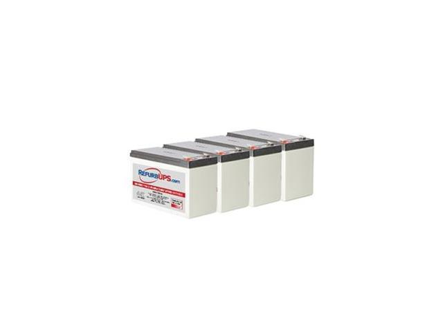 Emerson-Liebert GXT2 2000 UPS (GXT2-2000RT120) -  Compatible Replacement Battery Kit For RefurbUPS APC Compatible
