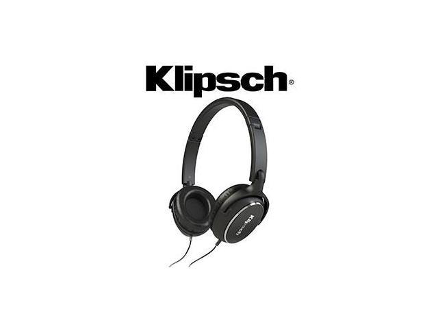 klipsch on ear headphones. klipsch reference r6 on-ear headphones - black on ear
