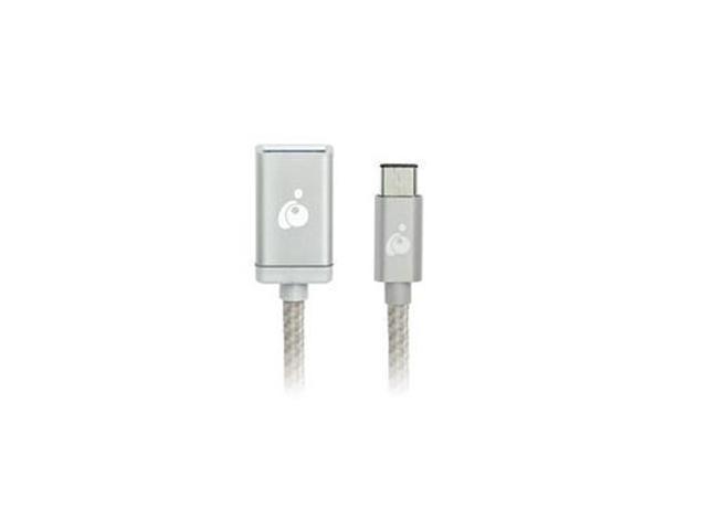 IOGear USB C to USB A Adapter Sil G2LU3CAF10SIL