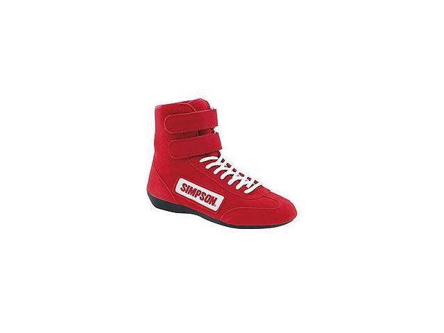 High Top Shoes 11 Red