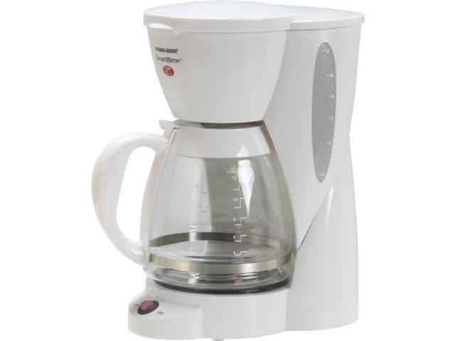 Black And Decker Basic Coffee Maker : Black & Decker CM1200W 12-Cup Automatic Coffee Maker, White-Newegg.com