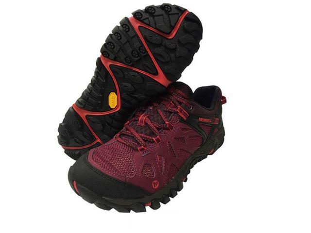 Merrell J37070 Women's All Out Blaze Aero Sport Hiking Shoes, Huckleberry, 7 M US
