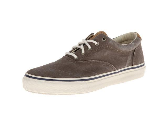 Sperry STS10350-070 Men's Striper Cvo Sneakers, Chocolate, 7 M US