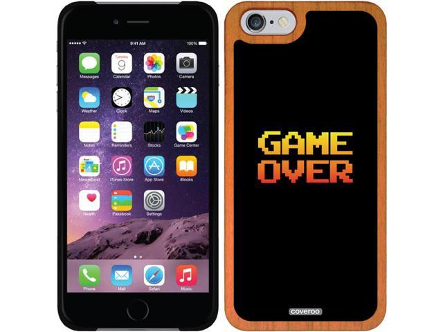 Coveroo Apple iPhone 6/6s Wood Thinshield Case with Game Over, Full-Color Design