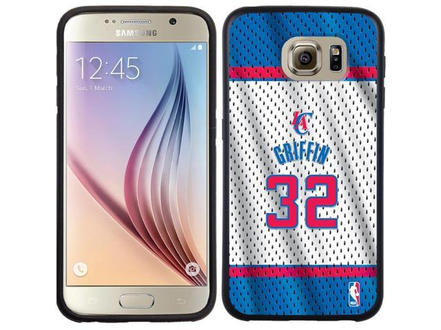 Coveroo Samsung Galaxy S6 Black Guardian Case with Blake Griffin Home Jersey Back, Full-Color Design