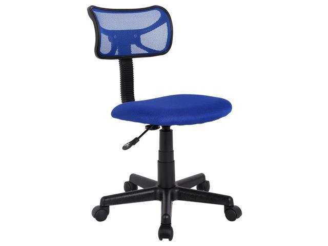 ProHT Mid Back Armless Mesh Office Desk Task Chair, Navy, 05177