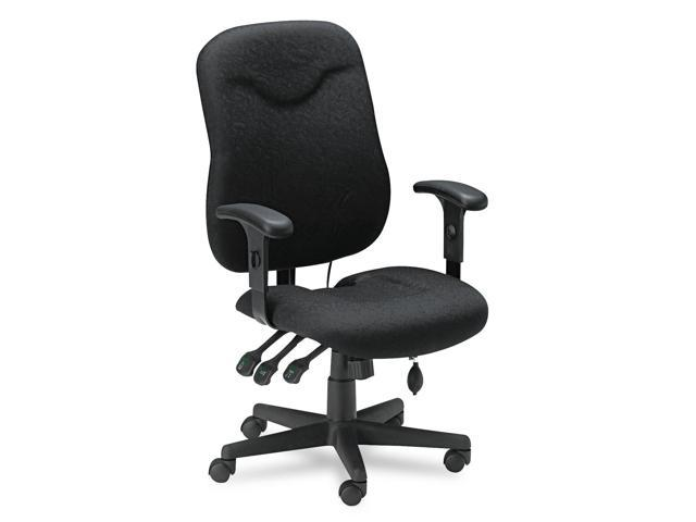 Mayline 9414AG2113 Comfort Series Executive Posture Chair, Black Fabric