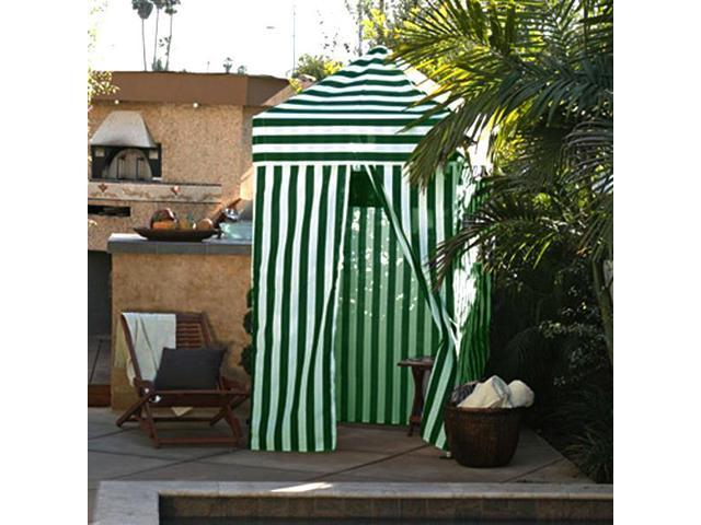 Apontus Striped Shower Changing Cabana Tent Patio Beach Pool Green White  sc 1 st  Newegg.com & Apontus Striped Shower Changing Cabana Tent Patio Beach Pool Green ...