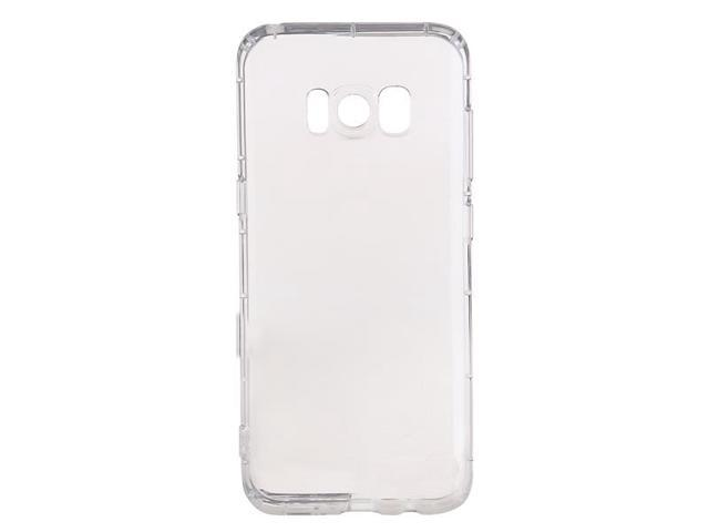 TinkSky 6.2-inch Crystal Clear Transparent Silicone Protective Case for Galaxy S8 Plus