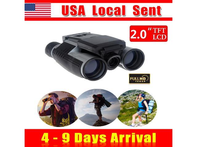 { Sent from USA } 2 inch Screen 12X32 Zoom FHD 1080P Video DVR Record Digital Telescope Binocular Camera