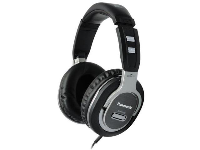 Quick-Fit Monitor Headphones RP-HTF600-S - Silver