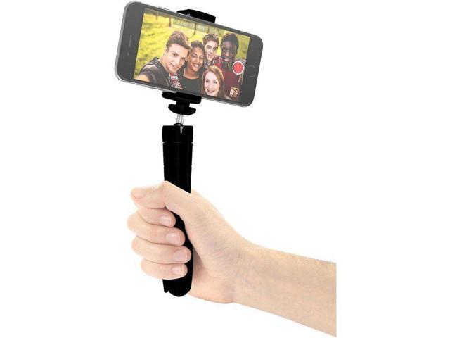 iKlip Grip Multifunction 4-in-1 Camera Stand with Remote Bluetooth Shutter and Adjustable Angle