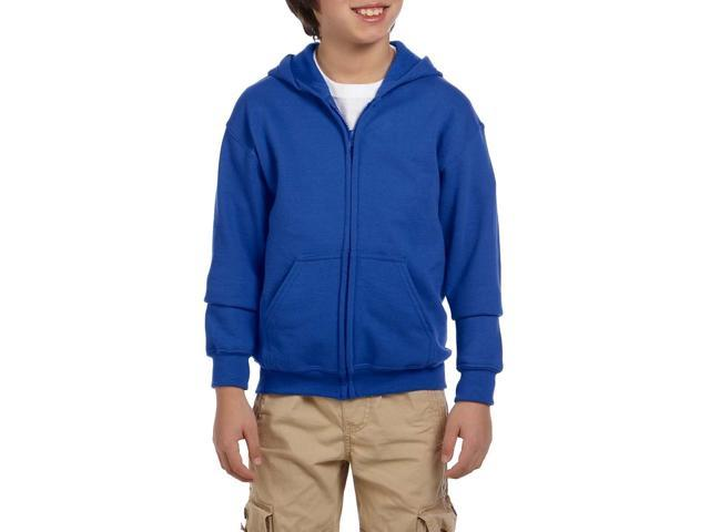Artix I love My Awesome Wife Heavy Blend Youth Full-Zip Hooded Sweatshirt Youth X-Small Royal Blue