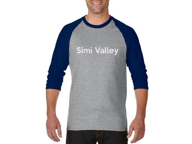 Artix Simi Valley  Unisex Raglan Sleeve Baseball T-Shirt