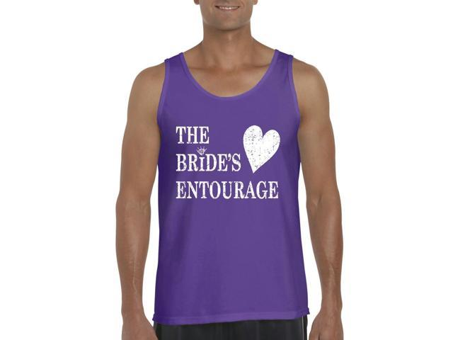 Artix Bride's Entourage Men's Tank Top Large Purple