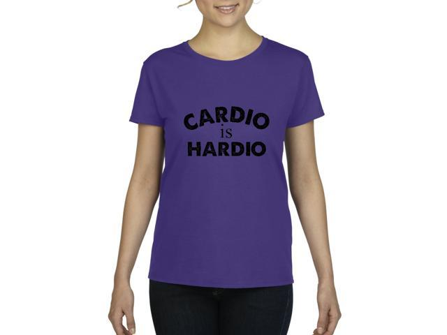 Artix Cardio is Hardio Gym Workout Fitness Exercise Sport Transformation Apparel Gift 4 Best Friend Christmas Halloween Healty Women's T-shirt Tee Clothes