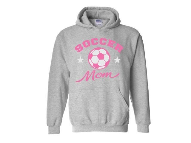 Artix Plush Soccer Mom Unisex Hoodie Sweatshirt Large Sport Grey