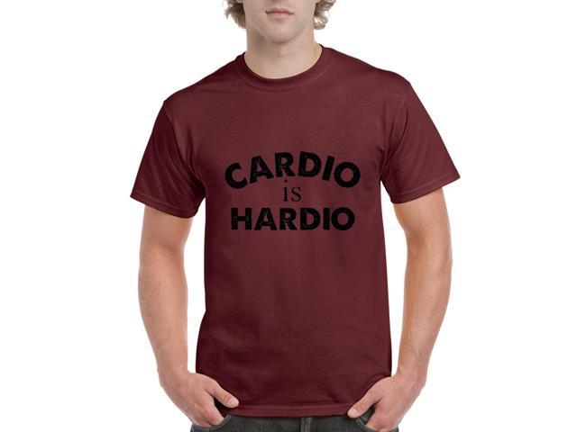 Artix Cardio is Hardio Gym Workout Fitness Exercise Sport Transformation Apparel Gift 4 Best Friend Christmas Halloween Healty Men's T-Shirt Tee