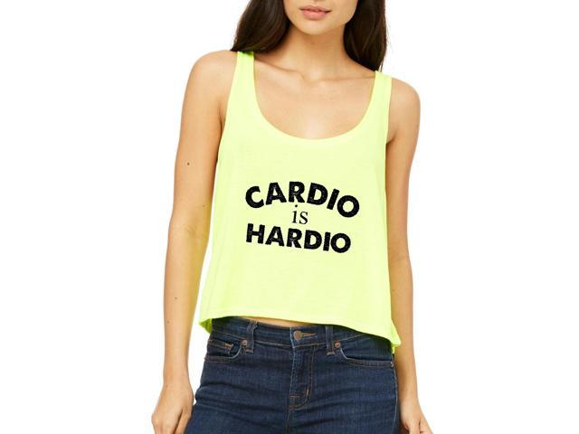 Artix Cardio is Hardio Gym Workout Fitness Exercise Sport Transformation Apparel Gift 4 Best Friend Christmas Halloween Healty Women's Boxy Tank Top  Clothes