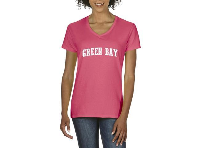 Artix Green Bay  Women's V-Neck T-Shirt Tee Clothes