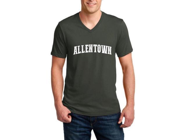 Artix Allentown  Ringspun Men V-Neck T-Shirt