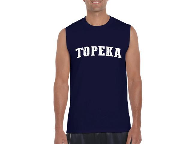 Artix Topeka  Ultra Cotton Sleeveless Men's T-Shirt