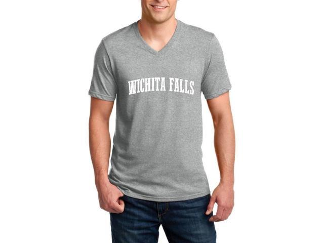 Artix Wichita Falls  Ringspun Men V-Neck T-Shirt