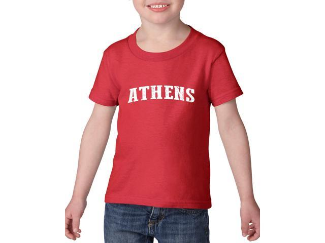 Artix Athens  Heavy Cotton Toddler Kids T-Shirt Tee Clothing