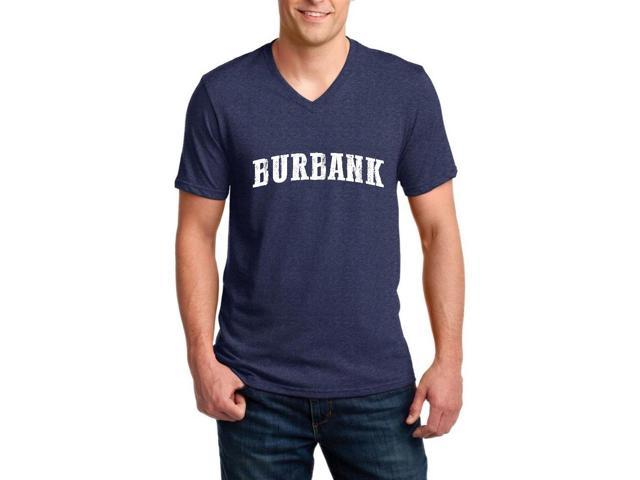 Artix Burbank  Ringspun Men V-Neck T-Shirt