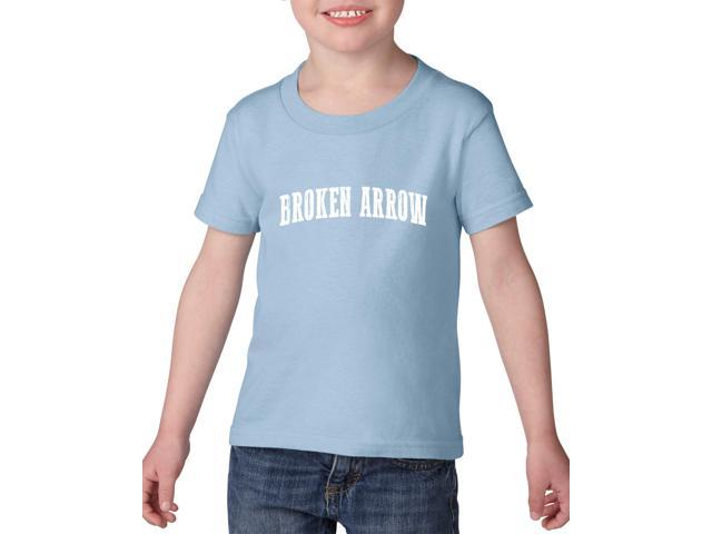 Artix Broken Arrow  Heavy Cotton Toddler Kids T-Shirt Tee Clothing