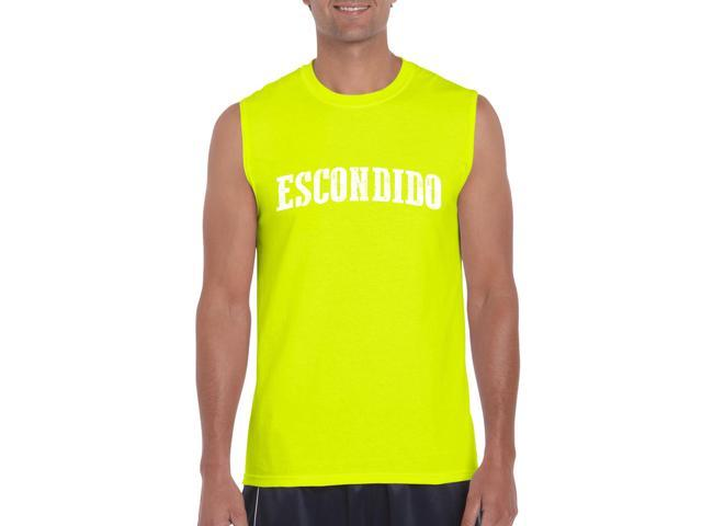 Artix Escondido  Ultra Cotton Sleeveless Men's T-Shirt