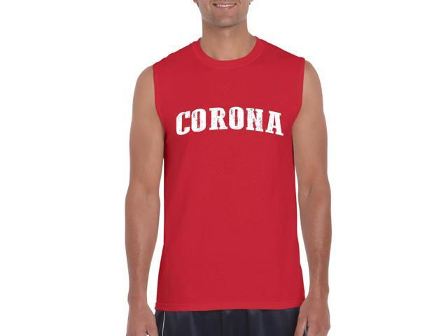Artix Corona  Ultra Cotton Sleeveless Men's T-Shirt