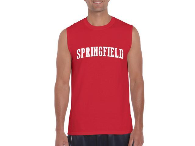 Artix Springfield  Ultra Cotton Sleeveless Men's T-Shirt