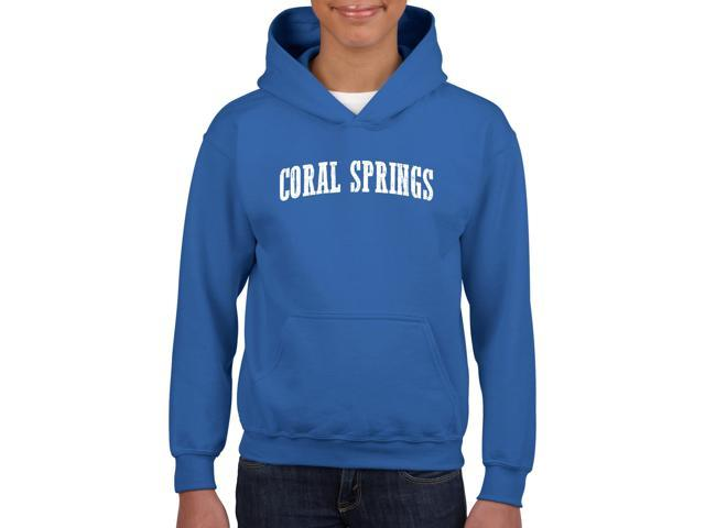 Artix Coral Springs  Unisex Hoodie For Girls and Boys Youth Kids Sweatshirt Clothing