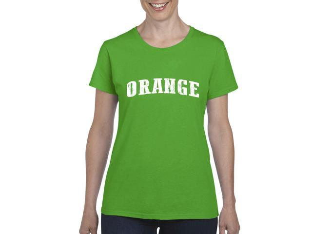Artix Orange  Women's T-shirt Tee Clothes