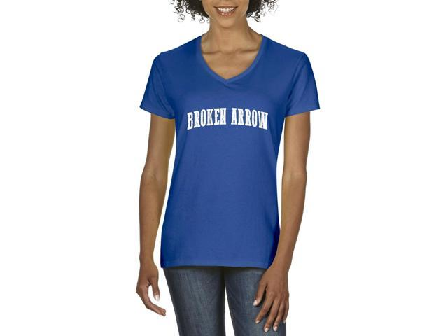 Artix Broken Arrow  Women's V-Neck T-Shirt Tee Clothes