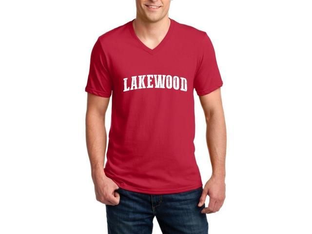Artix Lakewood  Ringspun Men V-Neck T-Shirt